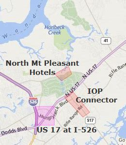 map of mt pleasant sc mount pleasant sc hotels motels see all discounts