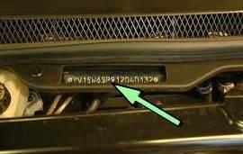 Volvo Vin Decoder Volvo V70 V90 Vin Location Vehicle Identification