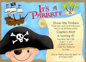 pirate birthday invitations from cardsdirect