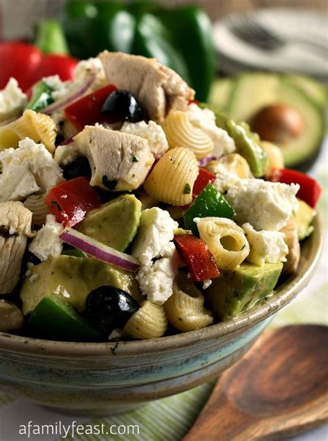 Easy And Delicious Pasta Salad Fun Fit And Fabulous | 17 best images about bell peppers on pinterest avocado