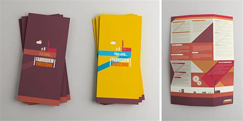 graphic design brochure layout inspiration the 174 coolest brochure designs for creative inspiration