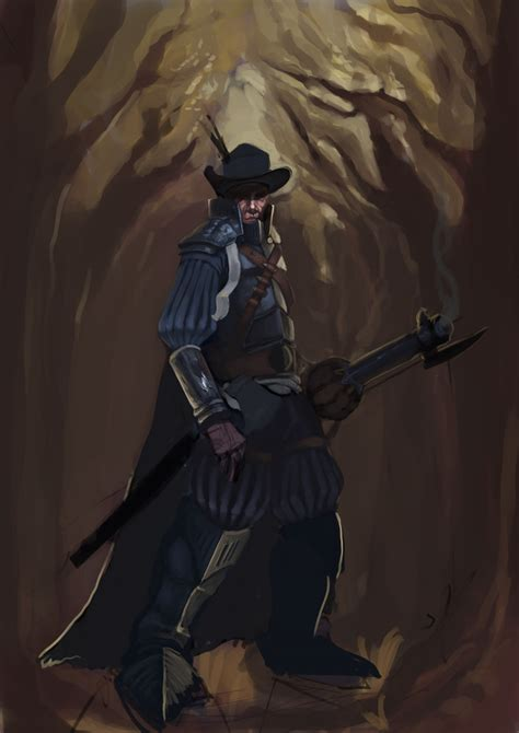 painting drawing musketeer wip by crayonmechanic on deviantart