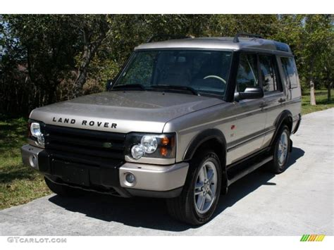 white and gold range rover 2003 white gold land rover discovery se 26068238