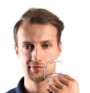 Goatee Trimming Template by The 5 Size Goatee Template Kit Premium Beard