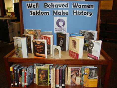 book display ideas display for women s history month library display