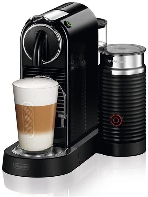 delonghi citiz milk en 267 bae nespresso capsule coffee machine black genuine 7630039602659 ebay
