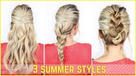 school summer hairstyles easy summer hairstyles cus