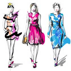 fashion design sketches of dresses how to make them