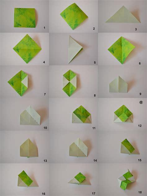 lets  origami tutorial kusudama spring