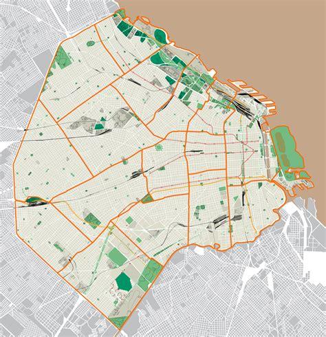 mapa america buenos aires mapa de capital federal para imprimir