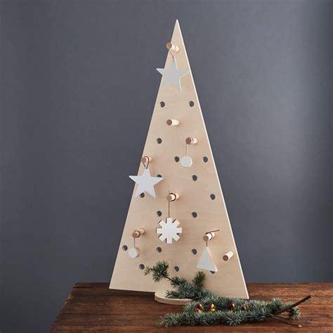 pegboard christmas tree large kreisdesign