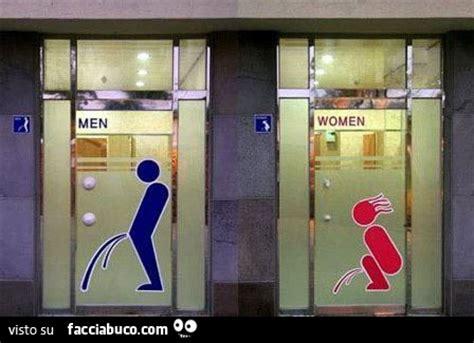 le donne e il bagno bagno uomini e bagno donne facciabuco