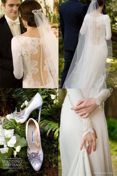 hochzeitskleid bella swan bella swan s wedding dress carolina herrera resort 2012