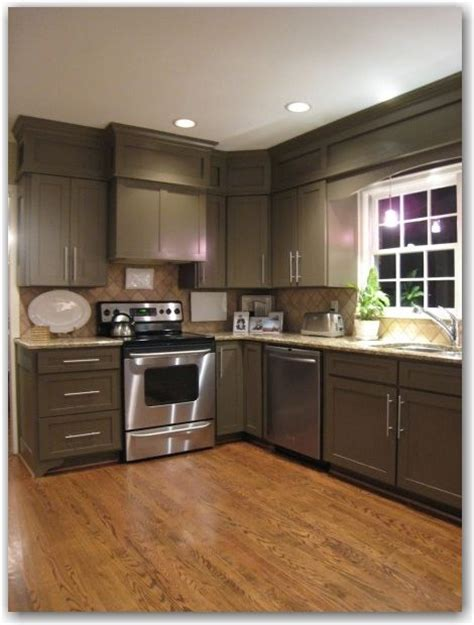 if white doesn t work cabinets are painted sherwin williams brainstorm bronze look