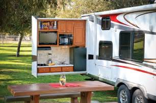take it outside with an outdoor kitchen www trailerlife