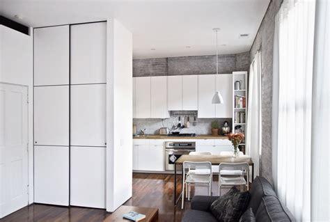 custom floor to ceiling minimalist closet doors by mato