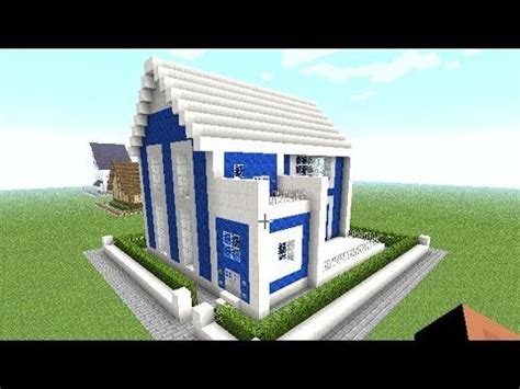 easy casa minecraft how to make a modern house easy big cool