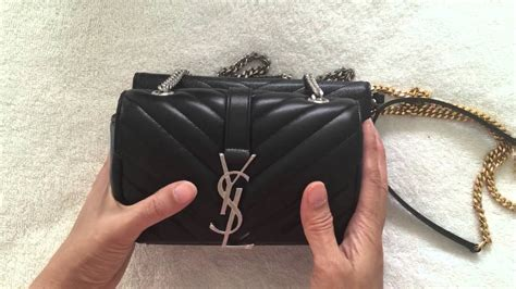 review ysl saint laurent baby monogram matelasse bag
