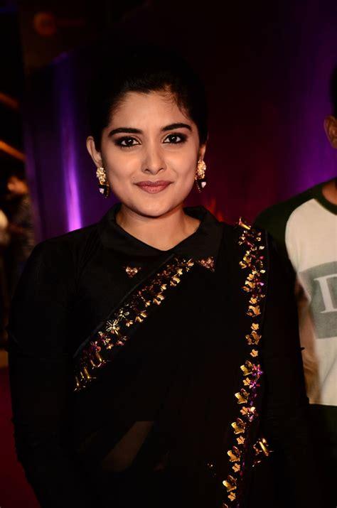 telugu actress 2018 actress nivetha thomas photos at zee telugu apsara awards