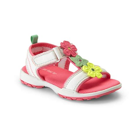 carter s light up sandals carter s s valenty white light up sporty