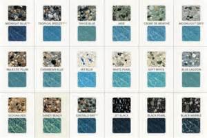 pebble tec colors info pebble tec shade guide pool remodel