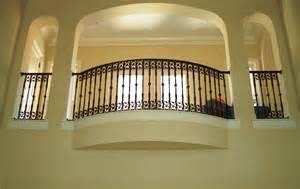 Brass Handrail Aluminum Balcony Railing