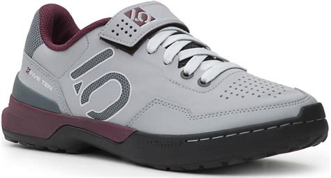 womens clip in bike shoes five ten kestrel lace clip in womens mtb shoes maroon ebay