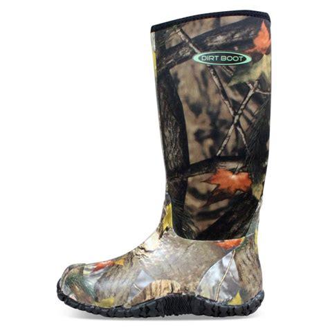 camo muck boots dirt boot neoprene wellington muck field fishing boots