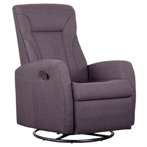 swivel rocker recliner with ottoman dezmo push back microfiber recliner glider rocker with