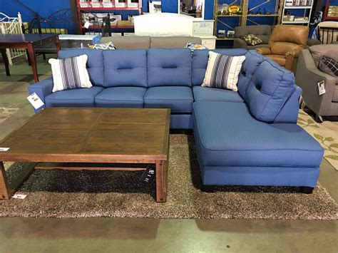 2 robins egg blue sectional sofa able auctions