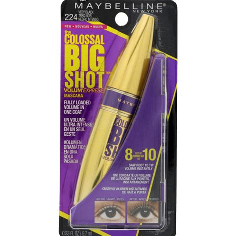 Maybelline Mascara Big maybelline volum 180 express colossal big mascara