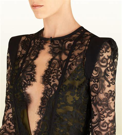 black pattern lace dress black lace dress by gucci french lace fabric online shop