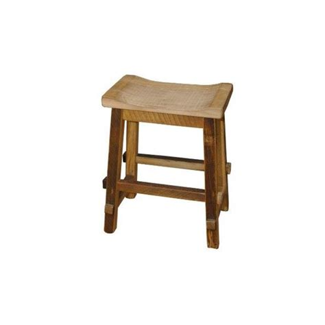 Reclaimed Wood Counter Height Stools by Reclaimed Barn Wood Saddle Stool Withwide Seat