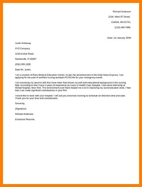 Exles Of A Great Cover Letter by 6 Cover Letter Exles Teller Resume