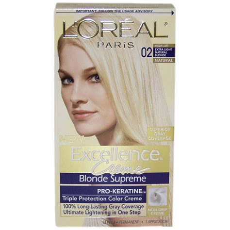 over the counter ash blonde hair color for gray hair excellence creme blonde supreme 02 high lift extra light