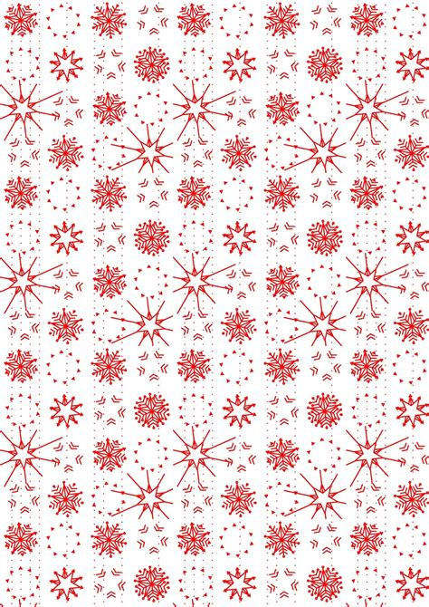 A Snowflake From Paper - free digital snowflake scrapbooking paper ausdruckbares