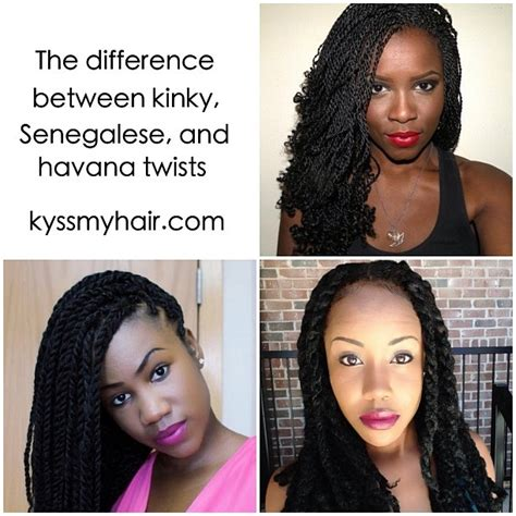 what the difference between havana twist and kinky twist 29 best images about natural hair articles on pinterest