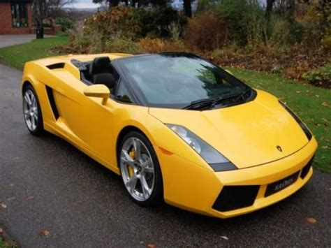 for sale lamborghini gallardo spyder 2007
