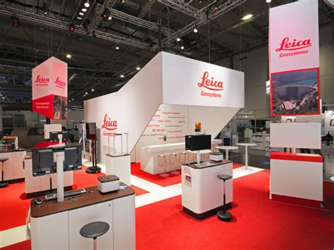 Booth Design Germany | leica geosystems booth by stengele cie at intergeo 2013