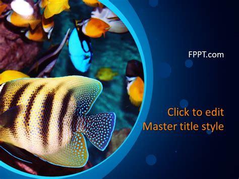 Free Aquarium Powerpoint Template Free Powerpoint Templates Aquarium Ppt Templates Free