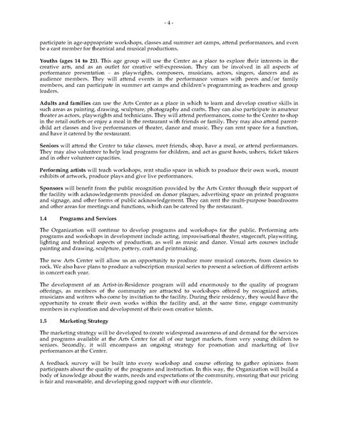 Theater Business Plan Legal Forms And Business Templates Megadox Com Theatre Business Plan Template