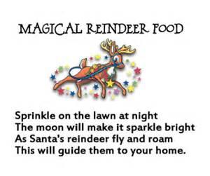 Homemaking fun magical reindeer food