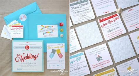 Board Wedding Invitations