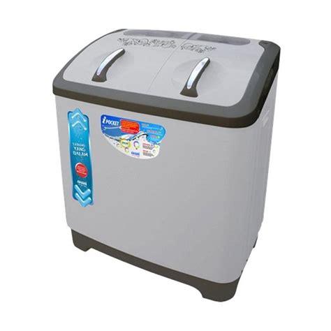 Mesin Cuci Akari 2 Tabung harga jual akari awm 1285k mesin cuci 2 tabung jumbo series 12 kg sejuk elektronik