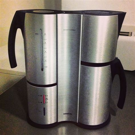 Siemens Porsche Design by My Newly Acquired Siemens Coffee Machine Porsche Design