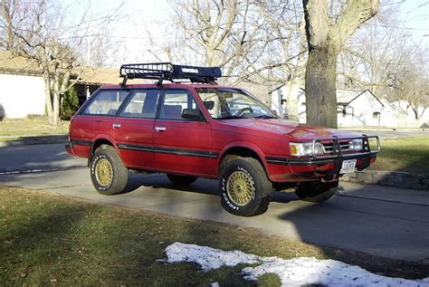 subaru loyale lifted subaru wagon gl subaru gl wagon pinterest subaru