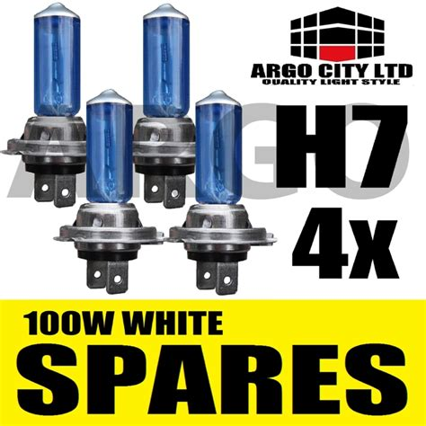 lada h7 100w h7 xenon white 100w bulbs dipped beam 12v headlight