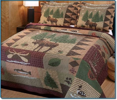 moose bedspread at cabelas 112 best images about lodge quilts on quilt sets quilting and tree quilt