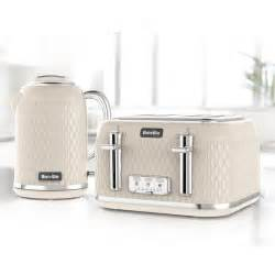 Breville Toasters And Kettles Cream Curve Collection 4 Slice Toaster Breville
