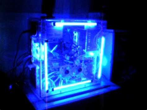 Sound Activated Cold Cathodes Lights Acrylic Pc